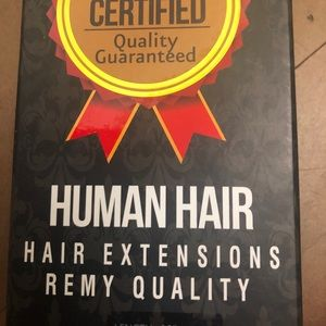 18 inch human hair extension wefts